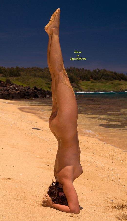 from Zion naked fat women handstand