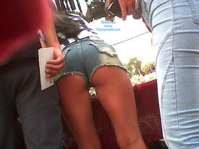 Her 15 ass on the street